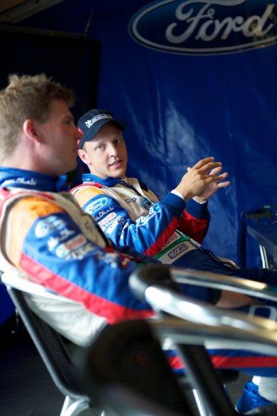 Της ford world rally team λίγο πριν το shakedown