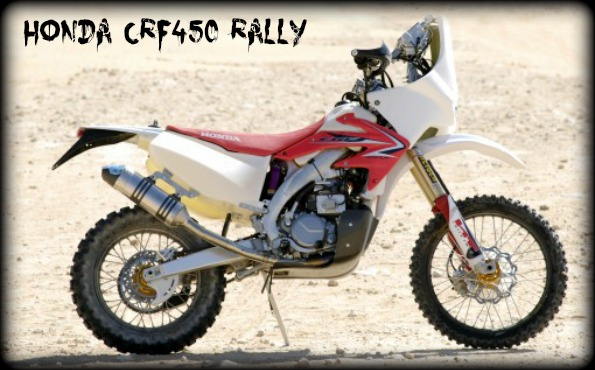 honda-crf450 rally dakar