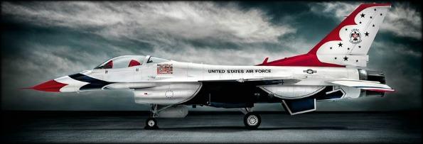 Blair Bunting Flies with the F-16 Thunderbirds-1
