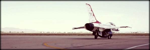 Blair Bunting Flies with the F-16 Thunderbirds-2