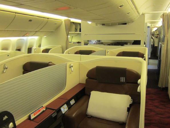 Japan Airlines luxury travelling 003