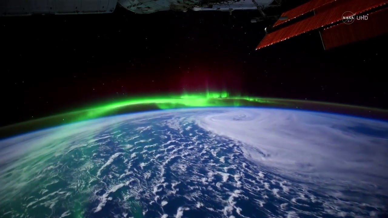 aurora-from-space-ISS-NASA