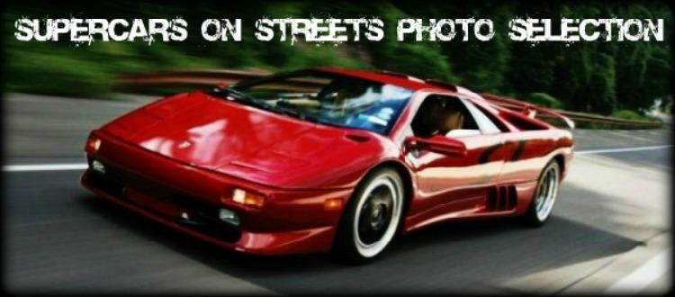 Βγάλανε τα supercars στους δρόμους