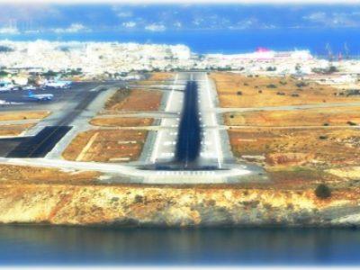 Μία εντυπωσιακή προσγείωση στο Ηράκλειο