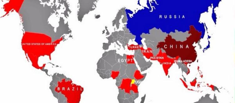 Ο πληθυσμός του κόσμου ανά χώρα το 2050