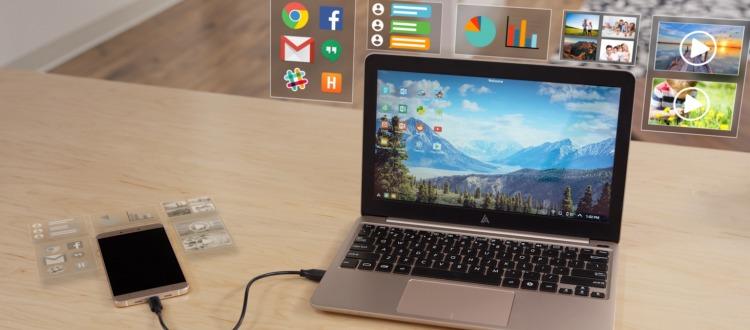 Μετατροπή κινητού Android σε laptop