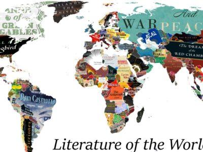 Χάρτης με τα σημαντικότερα βιβλία κάθε χώρας