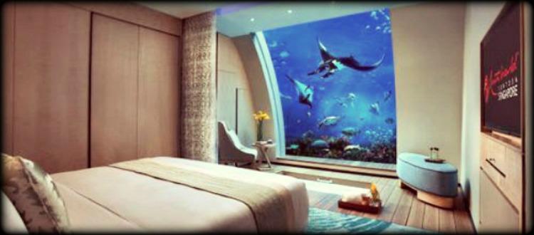 Κι όμως υπάρχουν και υποβρύχια ξενοδοχεία