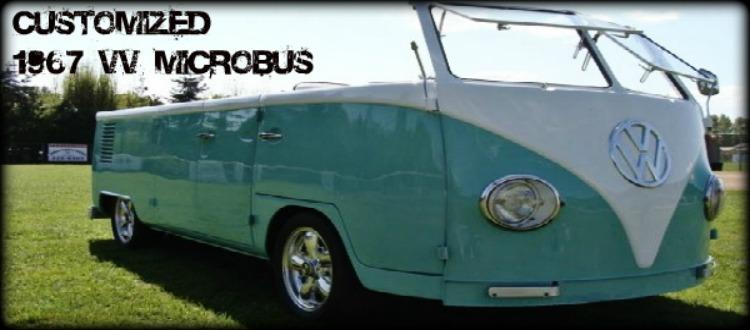Customized 1967 Volkswagen MicroBus