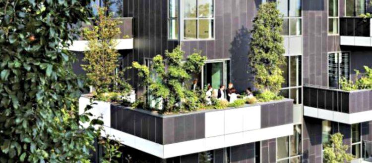 Κάθετους κήπους σχεδιάζουν στο Παρίσι