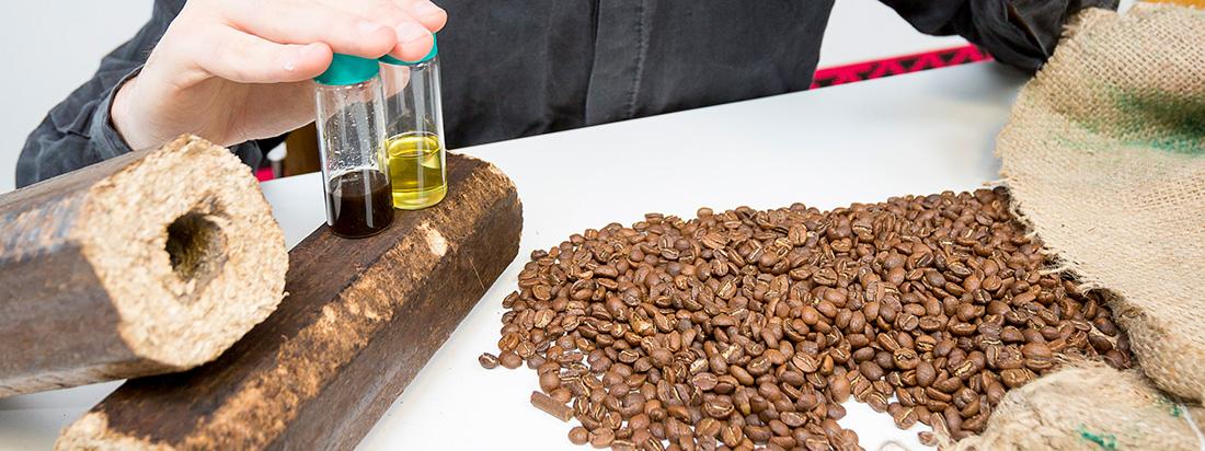 Βιοκαύσιμο από κόκκους καφέ