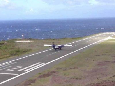 Προσγείωση στο μικρότερο αεροδιάδρομο
