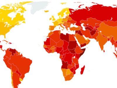 Ανεβαίνουμε στη λίστα της Διεθνούς Διαφάνειας