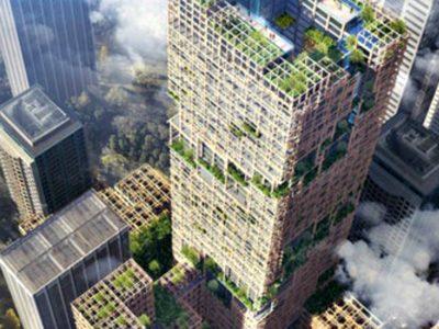 Ο ξύλινος ουρανοξύστης των 350 μέτρων