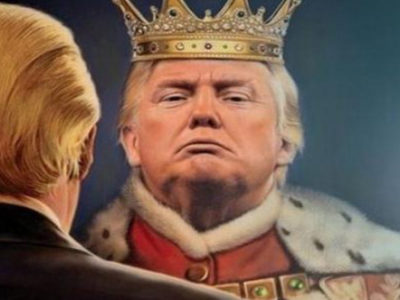 Ο Τραμπ φαντάζεται ότι είναι βασιλιάς