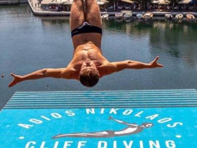 Εντυπωσίασε το Agios Nikolaos Cliff Diving 2018