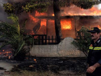 Ξεκίνησε εισαγγελική έρευνα για τα αίτια των φονικών πυρκαγιών