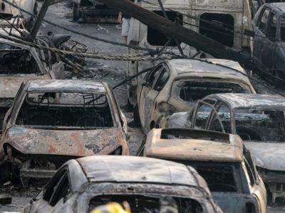 Δωρεάν διάθεση αυτοκινήτων στους πυρόπληκτους