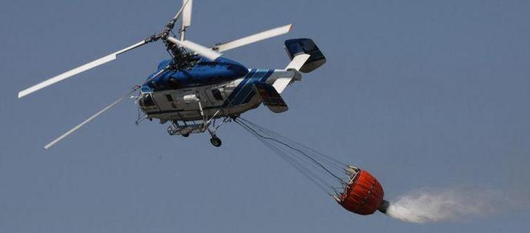 Συγκλονιστικά πλάνα από πυροσβεστικό ελικόπτερο