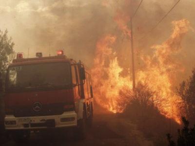 Ανατριχιαστική πρόβλεψη για τις πυρκαγιές