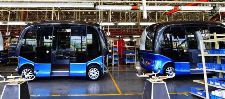 Οι Κινέζοι ετοιμάζουν λεωφορεία χωρίς οδηγό
