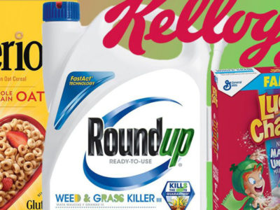 Η καρκινογόνος ουσία γλυφοσάτη σε δημοφιλή προϊόντα βρώμης