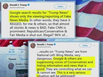 Ο Τραμπ προειδοποιεί το διαδίκτυο