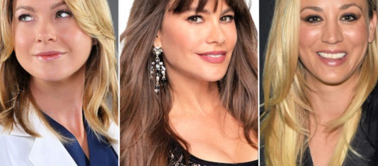 Top10 πιο ακριβοπληρωμένων γυναικών της τηλεόρασης