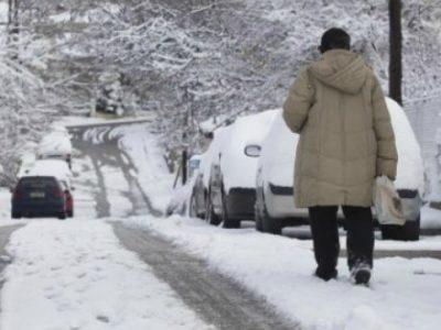 Πρωτοχρονιά με κρύο και χιονοπτώσεις