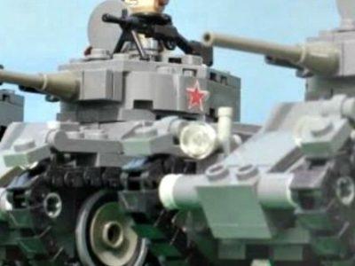 Η ναζιστική εισβολή στη Σοβιετική Ένωση σε lego