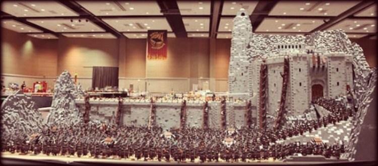 Ο Άρχοντας των δαχτυλιδιών και των Lego