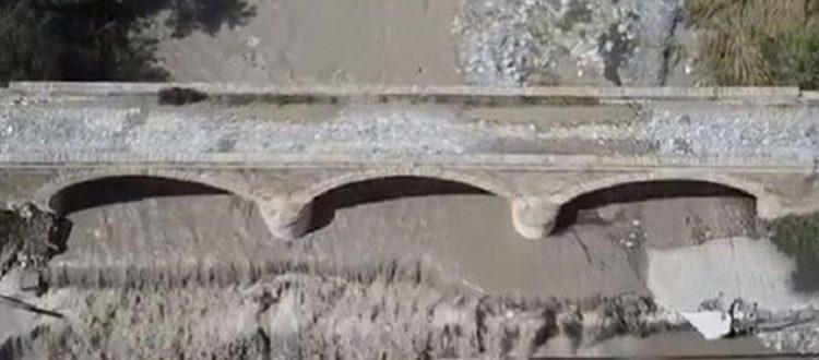 Ιστορική γέφυρα κινδύνευσε στην Ιεράπετρα
