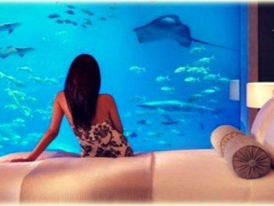 Η υποβρύχια σουίτα των 8.000 euro το βράδυ