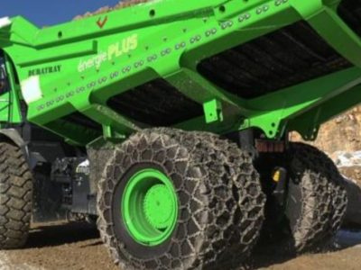Φορτηγό παράγει ενέργεια αντί να καταναλώνει