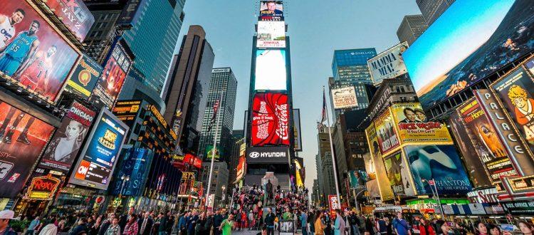 Πόσο κάνει η διαφήμιση στα billboards της Times Square