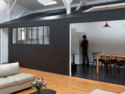 Από ξυλουργείο εντυπωσιακό loft