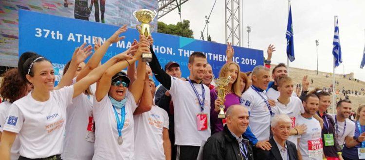 Πρωτιά Κρήτης στον τελικό του RUN GREECE 2019