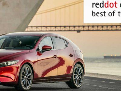 To βραβείο Red Dot design στο νέο Mazda3