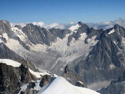 Ρεκόρ στο λιώσιμο των παγετώνων του Mont Blanc