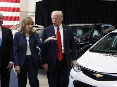 Κόβουν αυτοκινητοβιομηχανίες που υποστηρίζουν Τραμπ