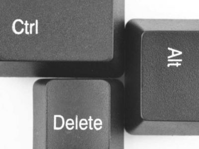 Η συγγνώμη για το Control-Alt-Delete