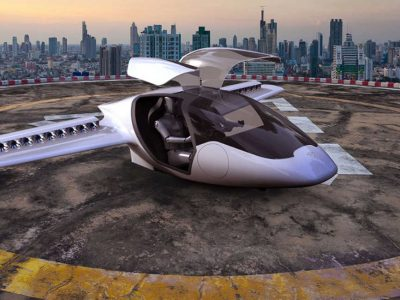 Τα ιπτάμενα ταξί ξεκίνησαν κούρσες