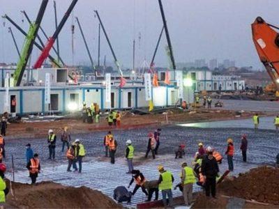 Πως χτίζεται ένα νοσοκομείο σε 10 ημέρες