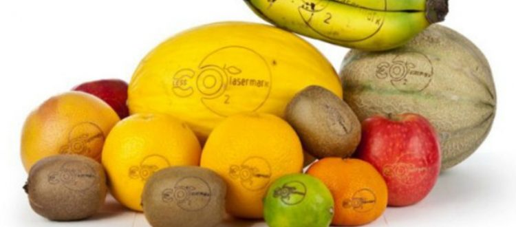 Το λέιζερ αλλάζει την σήμανση σε φρούτα και λαχανικά