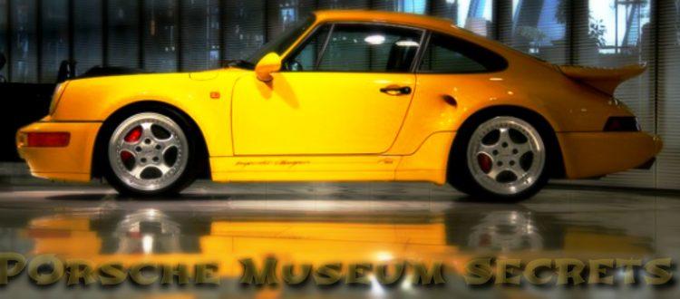 Μια κλεφτή ματιά στο μουσείο της Porsche