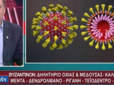 Ο Βελόπουλος πουλάει αλοιφή για τον κορωνοϊό